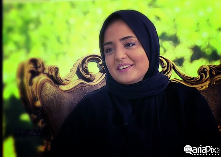 عکس جدید نرگس محمدی و بروز ارجمند بازیگران ایرانی در برنامه زنده رود سال 93