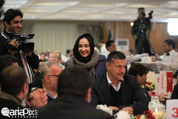 عکسهای بازیگران ایرانی در همایش شرکت هواپیمایی
