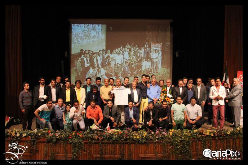 عکس جشن بدرقه تیم ملی فوتبال هنرمندان به مسکو