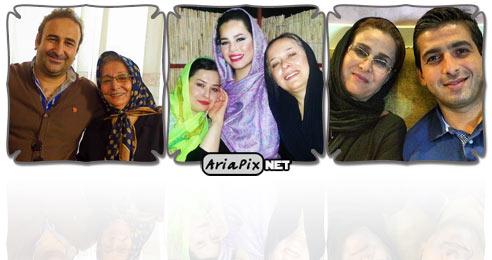 عکس بازیگران و مادرانشان