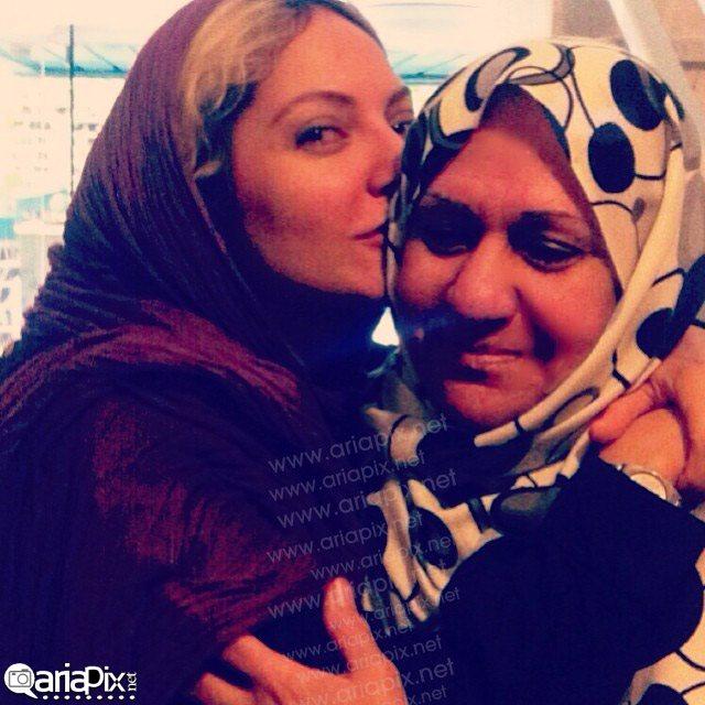 عکس / مهناز افشار و مادرش