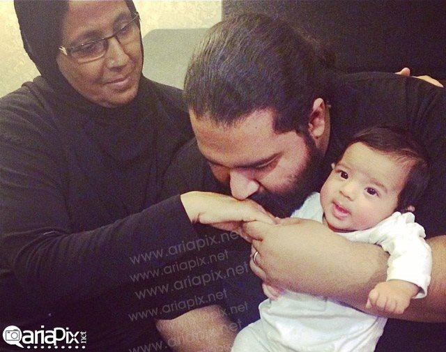 رضا صادقی و مادرش / عکس  عکس بازیگران و مادرانشان