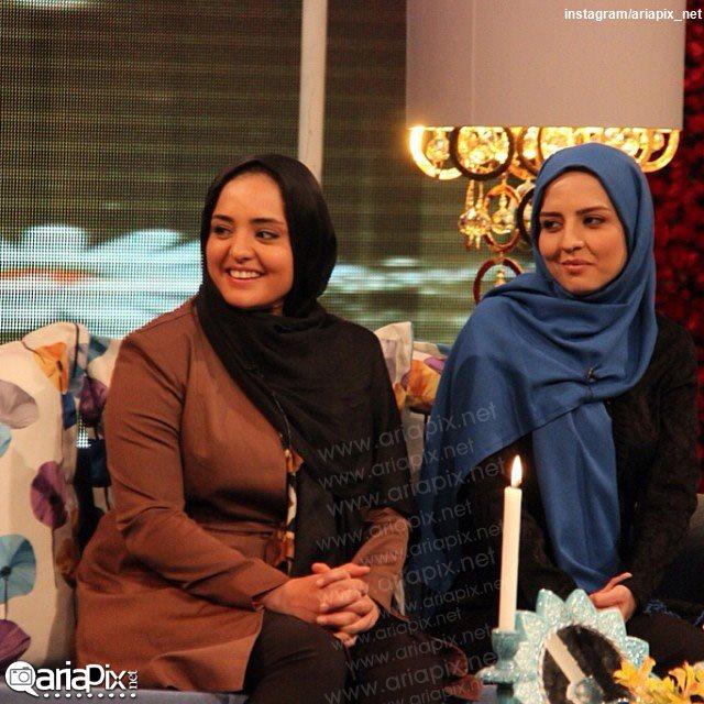 نرگس محمدی بازیگر زن و خواهرش سارا محمدی شروع سال 93