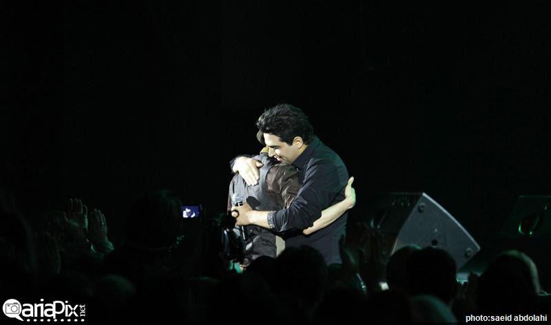 عکس کنسرت حمید عسکری با حضور برخی خوانندگان و هنرمندان