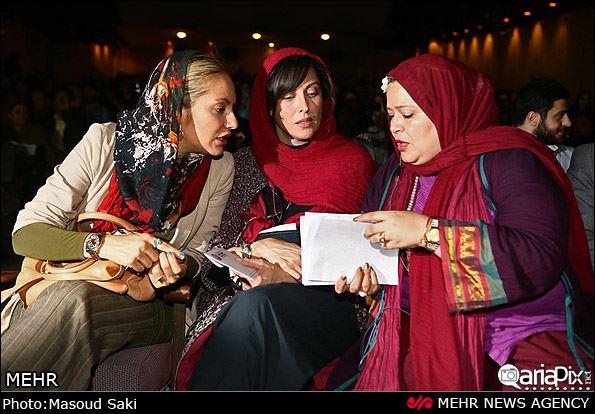 عکس | اکران فیلم طبقه حساس برای دو اعدامی