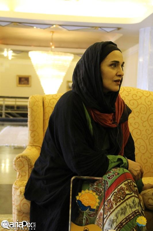 عکسهای جدید رویا نونهالی و مرجانه گلچین بازیگران زن در برنامه صبح خلیج فارس