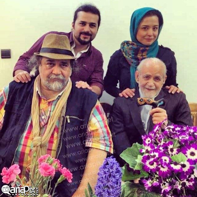 عکس بازیگران و خوانندگان پای سفره هفت سین نوروز 93