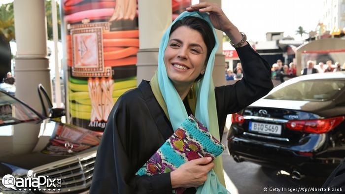 لیلا حاتمی بازیگر زن در جشنواره کن 2014