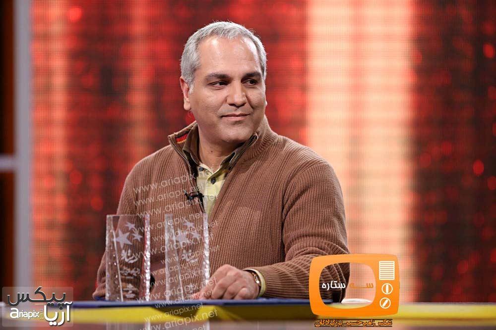 عکسهای مهران مدیری بازیگران و کارگردان در برنامه سال تحویل 93 شبکه 3
