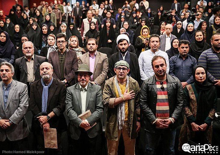 عکس /مراسم تجلیل و تقدیر از سریال پایتخت 3