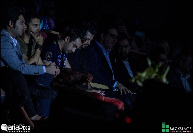 عکسهای اولین کنسرت زانیار خسروی با حضور بازیگران و خوانندگان