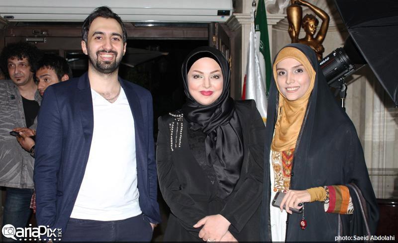 مراسم رونمایی کتاب زهرا عاملی با حضور بازیگران