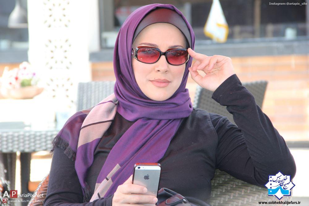 آشا محرابی, عکس جدید آشا محرابی, آشا محرابی در صبح خلیج فارس