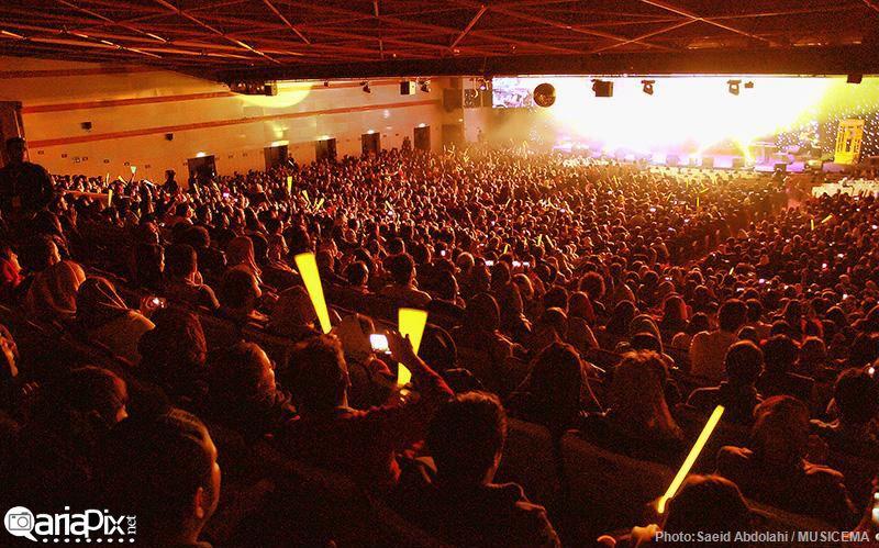 کنسرت بنیامین بهمن ماه 93, عکسهای کنسرت بنیامین بهادری