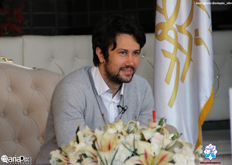 عکسهای جدید شاهرخ استخری, شاهرخ استخری در برنامه صبح خلیج فارس