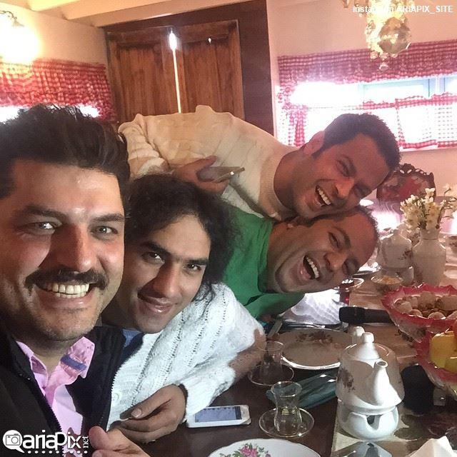 پژمان بازغی / علی اوجی / سام درخشانی / رضا یزدانی