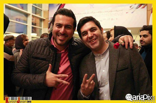 عکسهای بازیگران و هنرمندان در افتتاحیه سی و سومین جشنواره فیلم فجر