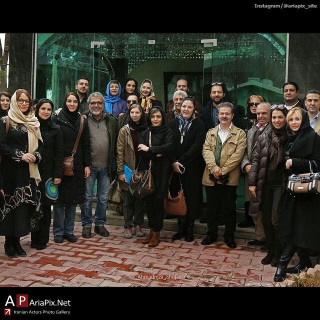 بازدید بازیگران و هنرمندان از بنیاد خیریه کامرانی سالمندان