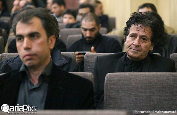 عکسهای مراسم ختم پدر شهاب حسینی