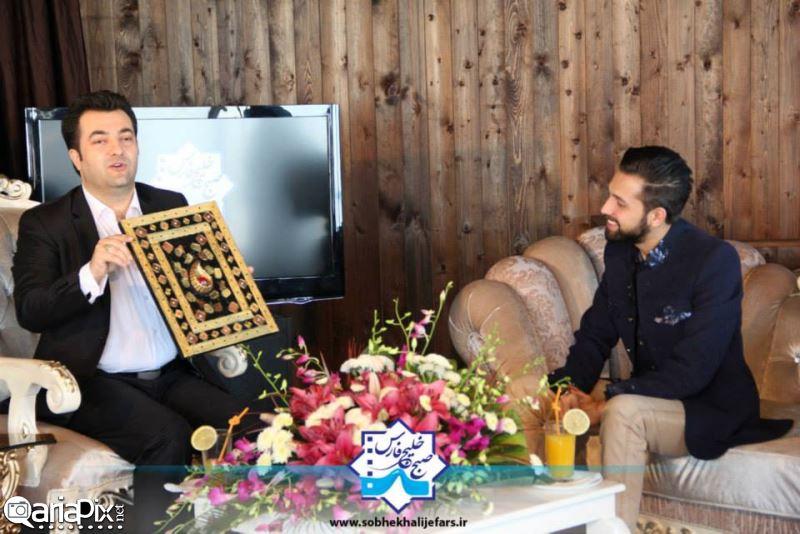 محسن افشانی, محسن افشانی در برنامه صبح خلیج فارس