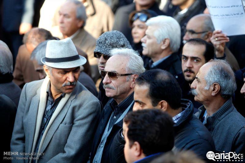 تشییع مرتضی احمدی, تشییع جنازه مرتضی احمدی