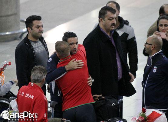 بازگشت تیم ملی فوتبال از استرالیا به ایران