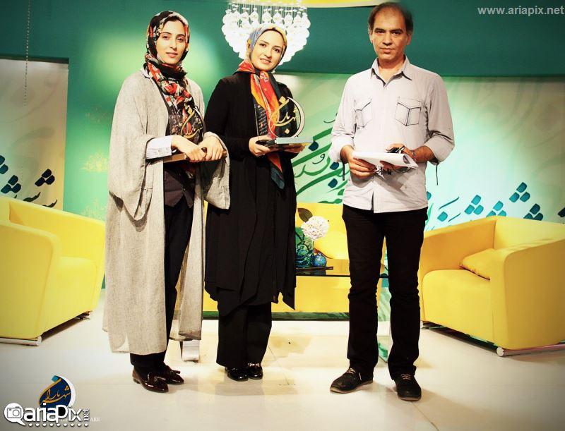 گلاره عباسی و آناهیتا افشار در برنامه شهر باران