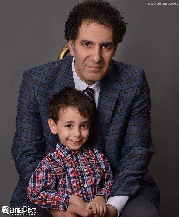 بهنام تشکر و پسرش + عکس جدید بهنام تشکر و پسرش