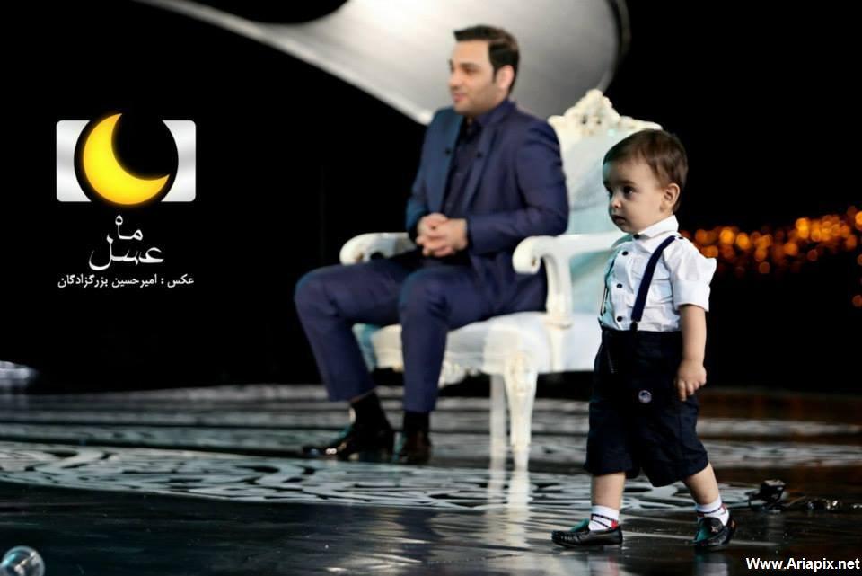 عکسهای جدید احسان علیخانی در اولین برنامه ماه عسل 93