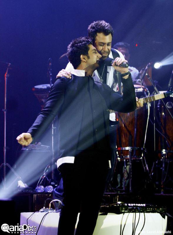 عکس : کنسرت جدید فرزاد فرزین در تهران خرداد 93