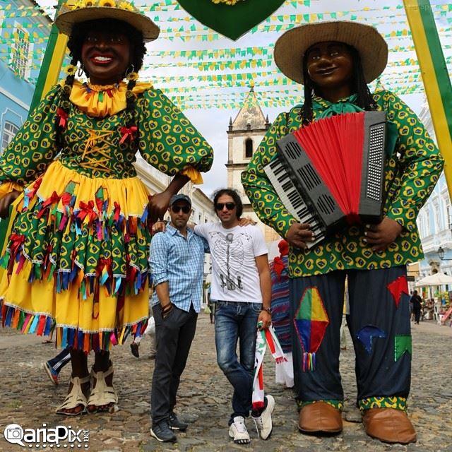 عکسهای جدید بازیگران و هنرمندان در برزیل