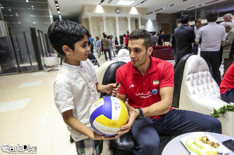 بازگشت بازیکنان تیم ملی والیبال از مسابقات جهانی