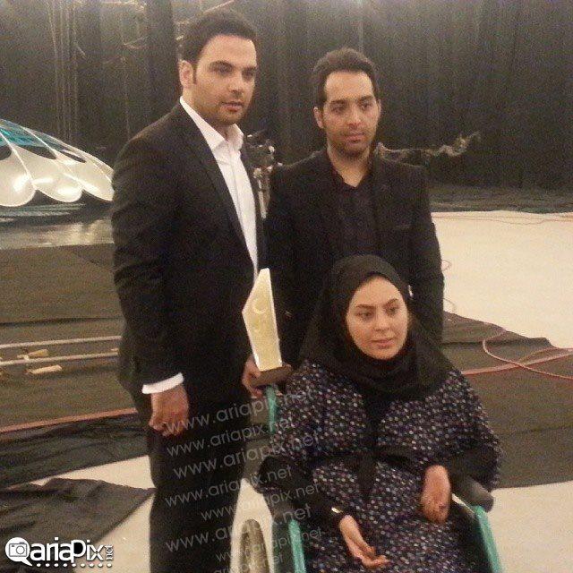 احسان علیخانی در کنار احسان و سولماز - برنامه ماه عسل 93
