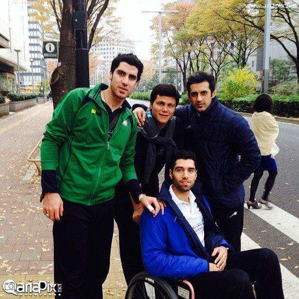 Seyedmohamad-Mousavi عکس والیبالیست های ایرانی