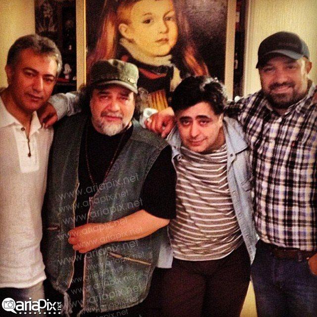 عکس از سری جدید شام ایرانی با حضور برزو ارجمند,شریفی نیا,رضا شفیعی جم محمدرضا هدایتی
