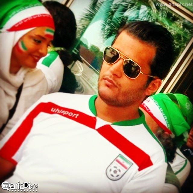 سیاوش خیرابی در برزیل / عکس بازیگران ایرانی در برزیل 2014