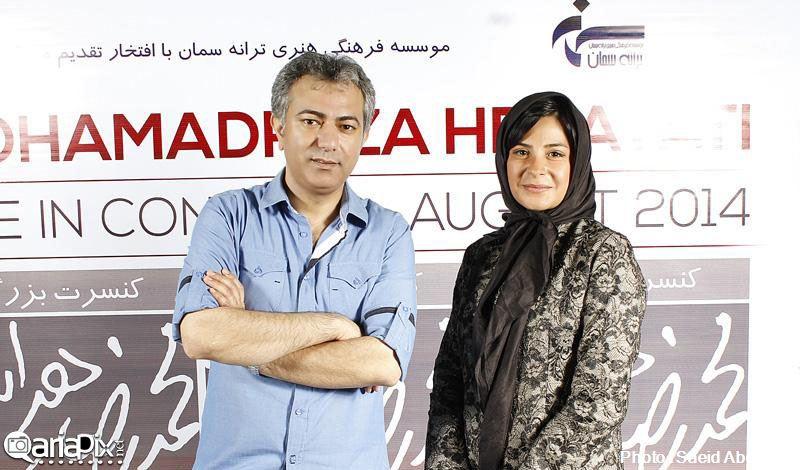 بازیگران در کنسرت محمدرضا هدایتی, مهمانان کنسرت محمدرضا هدایتی