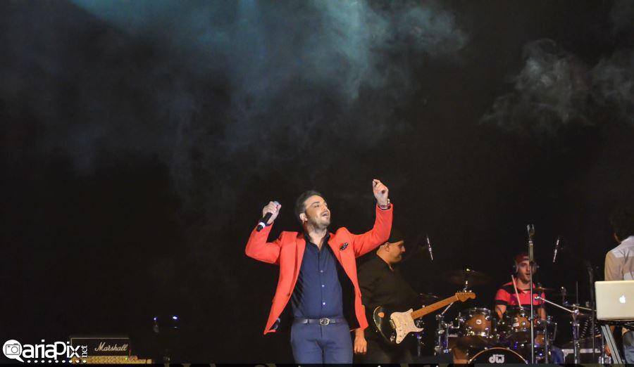 کنسرت مرتضی پاشایی و بابک جهانبخش در دبی