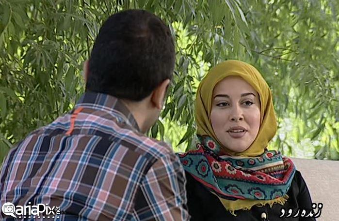 آشا محرابی لیلا برخورداری و بهنام قربانی بازیگران در زنده رود