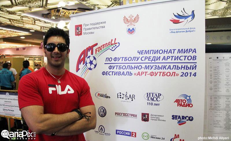 عکس های تیم ملی هنرمندان در مسکو