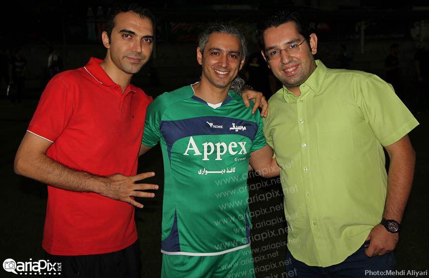 عکسهای جام ستارگان 93 با حضور بازیگران و خوانندگان رمضان 93