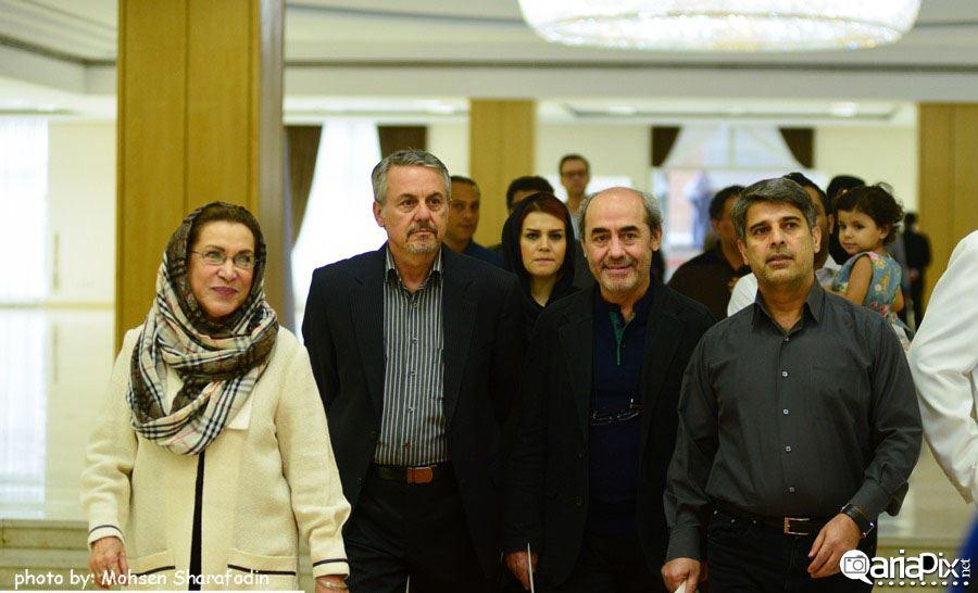 مراسم افطاری رییس جمهور با هنرمندان و بازیگران