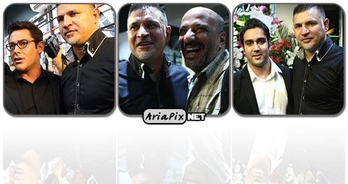 افتتاحیه فروشگاه علی دایی, بازیگران در افتتاحیه فروشگاه علی دایی