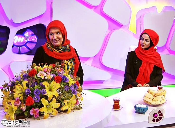 الناز حبیبی و شهین تسلیمی در برنامه گلخانه