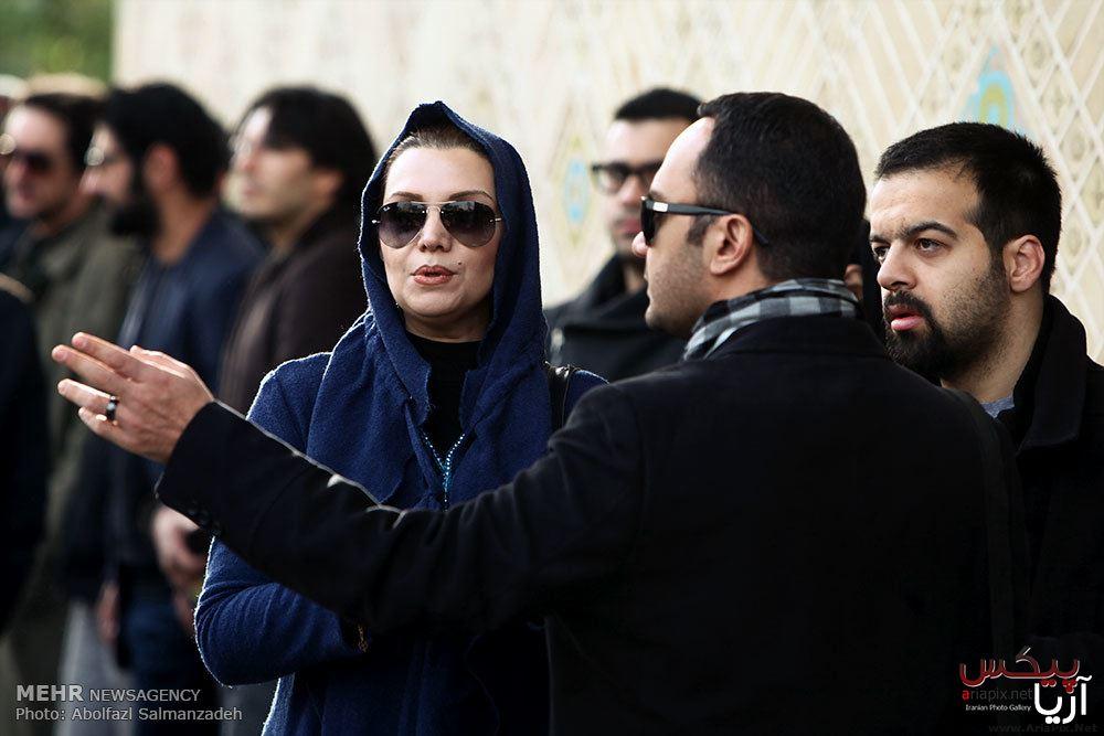 تشییع جنازه مجید بهرامی بازیگر