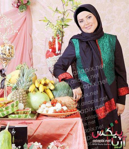 کمند امیرسلیمانی بازیگران زن استقبال از  شب یلدای 93
