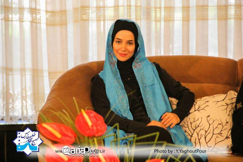 الناز حبیبی, عکس جدید الناز حبیبی, الناز حبیبی در صبح خلیج فارس