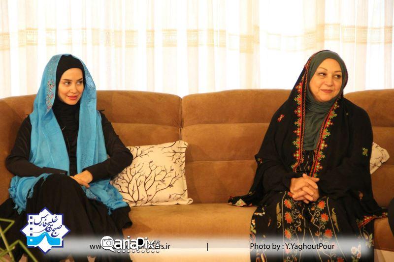 الناز حبیبی و مریم سعادت عکس جدید