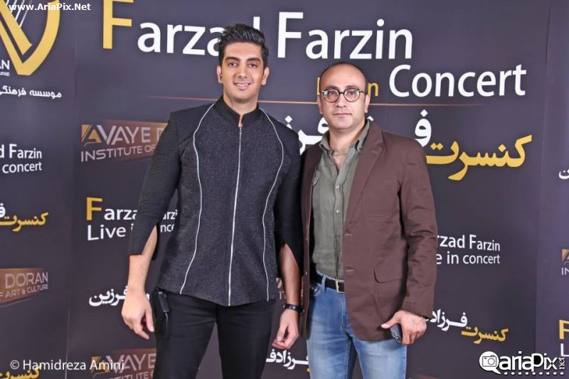کنسرت فرزاد فرزین مهر 93, بازیگران در کنسرت فرزاد فرزین