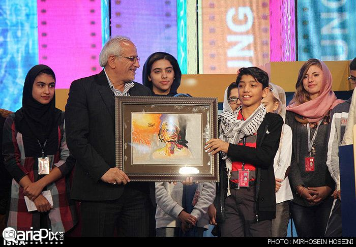 اختتامیه جشنواره فیلم کودک اصفهان مهر 93